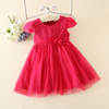 lovely baby clothing kids girl wool dress hight quality baby girl fairy dress with cheap price