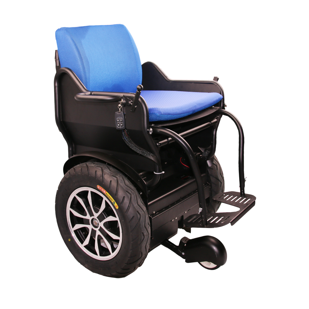 Electric Wheelchair with Feet Sensor/Two Wheels Self Balancing Scooter with Roof