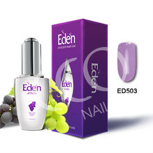 CCO Eden Organic Fruit Nail Glue Natural Nails soak off uv nail gel polish