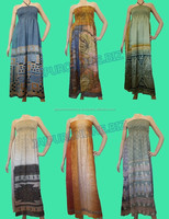 Sexy Vintage Long Printed Evening Maxi Tube Dress Womens Nighty Beach Dress Online Shopping