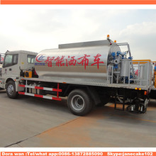 asphalt sprying truck for paver, asphalt emulsion sprayer for sales, bitumen asphalt spraying vehicles