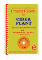Project Report On Cider Plant