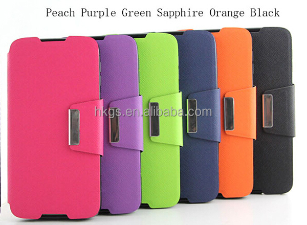 Fashion Wallet Flip Leather Case For Alcatel One Touch Idol 3 5.5 6045Y 6045 Mobile Phone Spare Parts