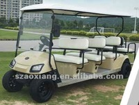 48V 4.4KW Cheap Top brand electric golf utility vehicles for sale, 12 seaters sport utility vehicle with wholesale price