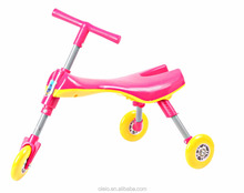 Baby Toddler Bike,Folded 3 wheels scooter bug,Mantis car