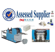 high speed automatic folding pocket paper handkerchief machine