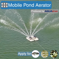 hot selling 2hp 1.5kw mobile fish pond aerator better than solar pond aerator not made in china