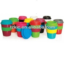 Promotional Plastic Coffee Cup with mix color