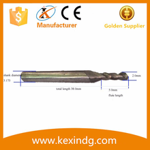 international standard Tool flute core drill bit pcb router bit