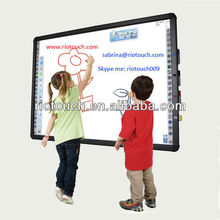 Riotouch smart classroom infrared touch interactive white board supplier