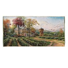 Excellent quality promotion country scenery village scenery oil painting on canvas