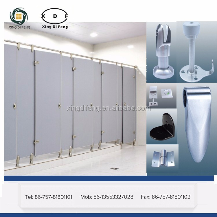 toilet cubicle Stainless Steel and Nylon Accessories
