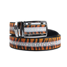 Heyco handmade luxury fashion stingray skin custom leather men automatic buckle belt