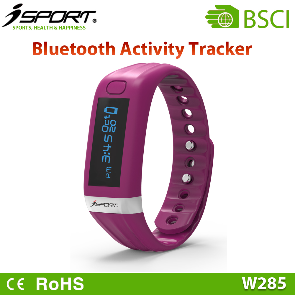 Smart Wristband with Continuous and Activity Fitness Tracker, Bluetooth Sports Smart Bracelet Watch
