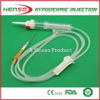Henso Blood Transfusion Set with Needle 18G