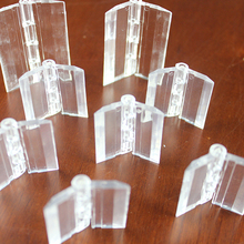 Clear Acrylic Glass Door Hinges
