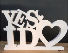 Personalised mr and mrs wedding cake topper Wood Letters
