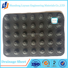 Garage Roof Drainage Board/Dimple Drainage Board/HDPE Plastic Drain Sheet