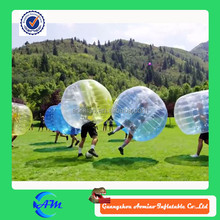 Popular sport toy transparent inflatable bubble ball,giant bubble ball,bumper ball inflatable ball for sale
