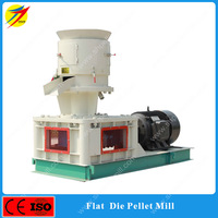 Flat die pellet machines/pigeon feed making machine