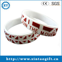 New Products Cool Embossed Printed Wristband