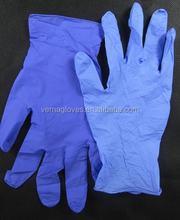 Latex Free Gloves, Powder Free Nitrile Gloves For Industrial, Work, Laboratory, Examination Use