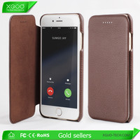 OEM brand available luxury genuine leather case for iphone 6s plus