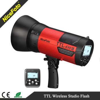 NiceFoto 600Ws TTL Wireless Studio Flash -- A Big Speedlite for outdoor shooting