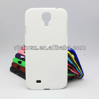 For Samsung i9500 Galaxy S4 SIV Phone Covers, Solid White Ultra Slim Carry Case