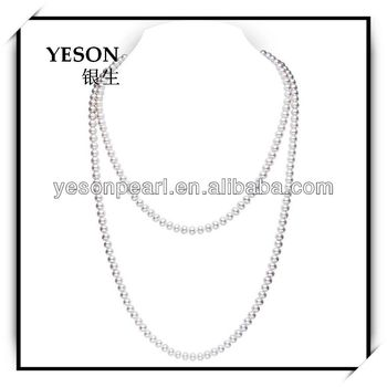long chain pearl necklace jewelry designs bridal buy
