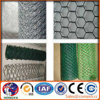 China Anping supplier pvc coated /galvanized hexagonal wire netting /chicken wire mesh