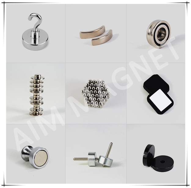 N50 Strong Block Neodymium Magnet 10mm