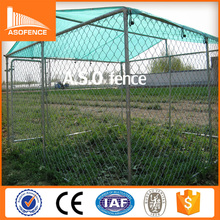 chain link wire woven style galvanized australia dog kennel fence panels