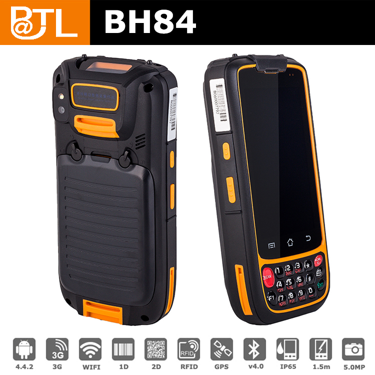 GA BATL BH84 1D Barcode GPS rugged 2d barcode scanner 3g , warehouse tracking phone