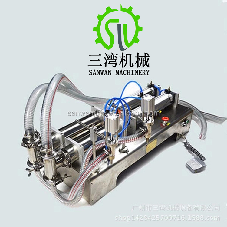 OEM Double Heads bottle filling machine for mineral water , juice,oil,perfume,suck beverage filling machine,drink