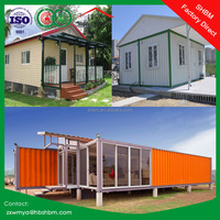 light steel frame Sandwich movable container house villa, office, home