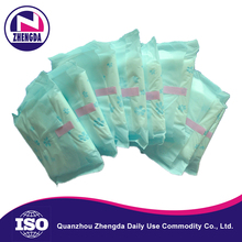 factory hot sales anti-bacterial herbal anion sanitary napkins turkey side effects