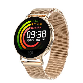 CE ROHS 방수 Round 스크린 폰 스마트 Blood Pressure Heart Rate Monitor 야외 Smart Watch 대 한 IOS 안드로이드 Best Gift