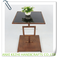 New Design Glass Small Table for Plant Stand