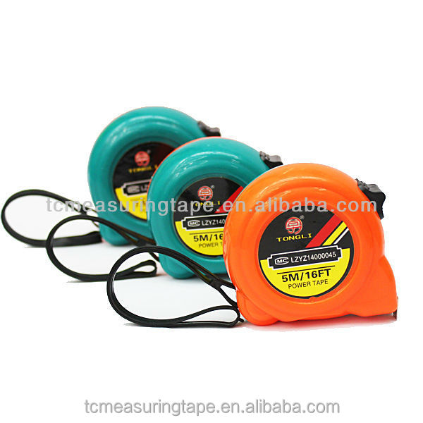 Customized abs colorful tape measure for children