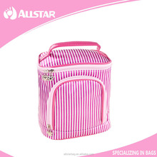 China famous beautiful design personalized clear travel cosmetic bag