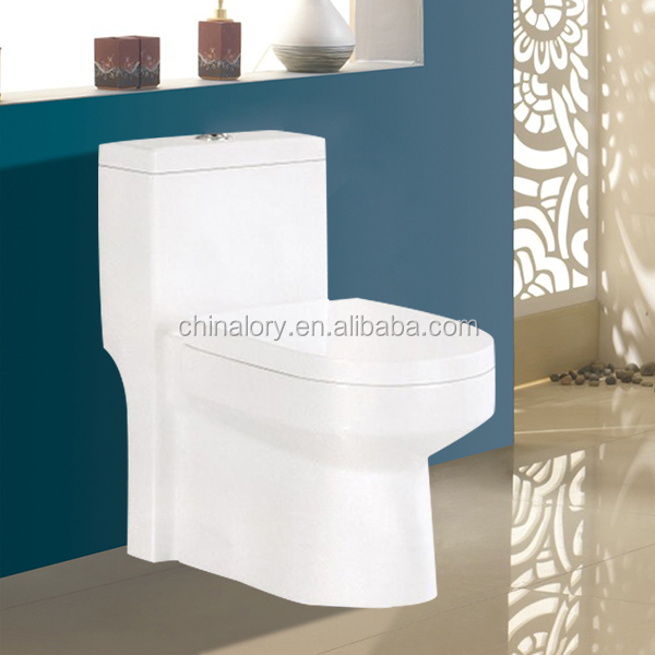 New Design White Ceramic Siphon Flushing Pedestal Squat Dual Flush Toilet