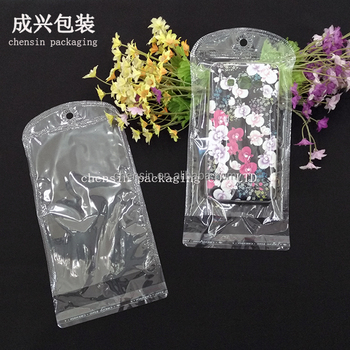 cheap wholesale plastic bag of tpu mobile case/ clear plastic self adhesive seal bag/factory plastic saree bags