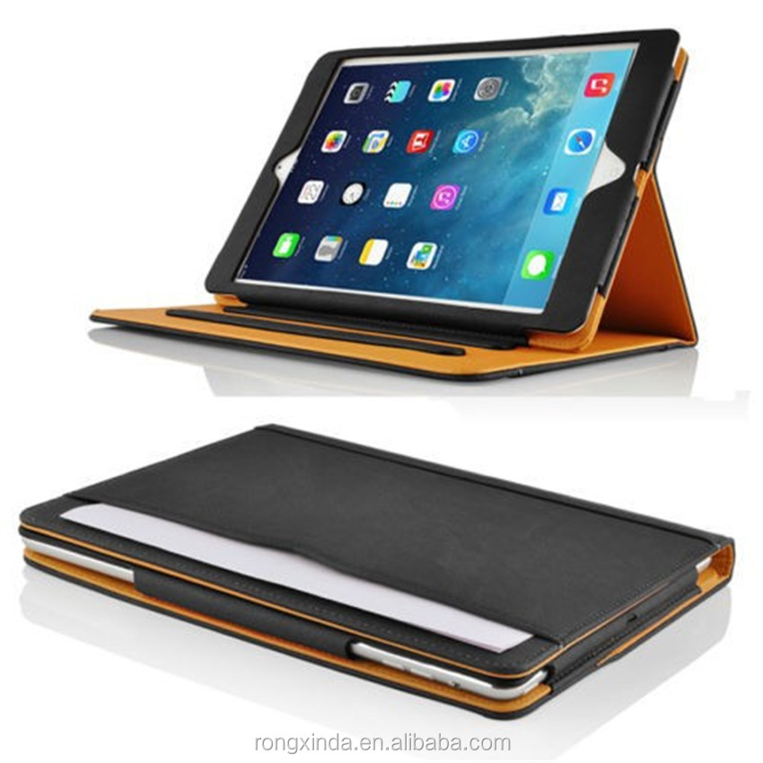 For iPad Smart Case for iPad 2 3 4 Luxury Business Leather for ipad 4 smart Case with stand competive Price & Quality