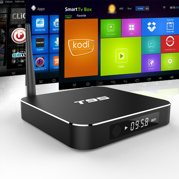 wholesale android smart tv set top box KODI 16.0 Metal Case T95 Android 5.1 TV Box