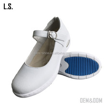 Professional clinic work shoes Mary Jane style Nursing shoes white nurse shoes women