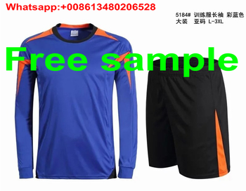 custom long sleeve soccer shirt