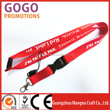 Professional Manufacturer of basketball lanyards for sale, screen printing polyester neck cord ID lanyards with brand logo