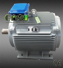 Low rpm 5kw 220v free energy permanent magnet synchronous generator with ac 3 phase output