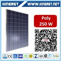 250w poly solar panels polycrystalline solar panels 250 watt hot selling high efficiency perlight 250w black solar panel